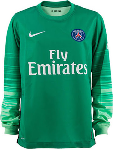 d8ed15ee7 Paris Saint-Germain 15-16 Goalkeeper Kit Released - Footy Headlines