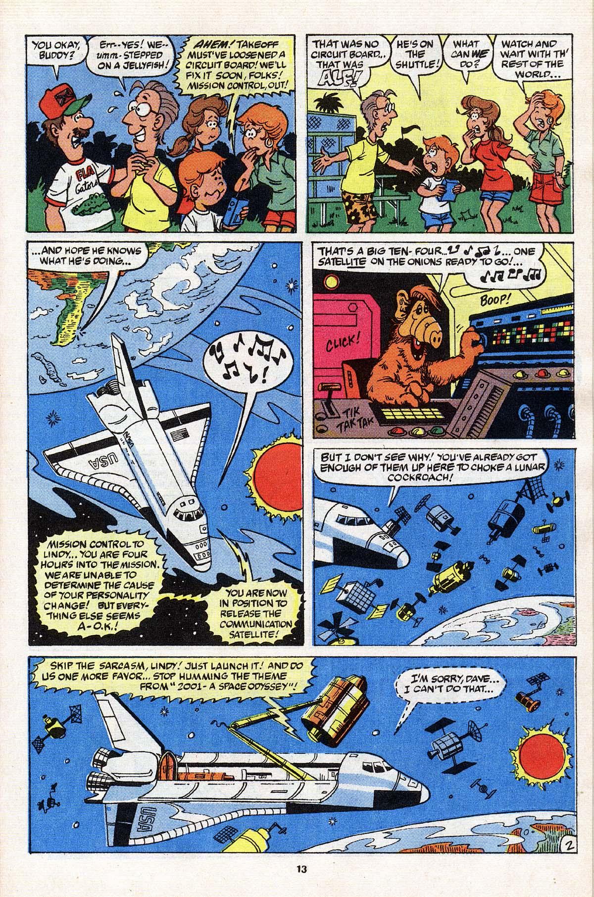 Read online ALF comic -  Issue # _Annual 3 - 12