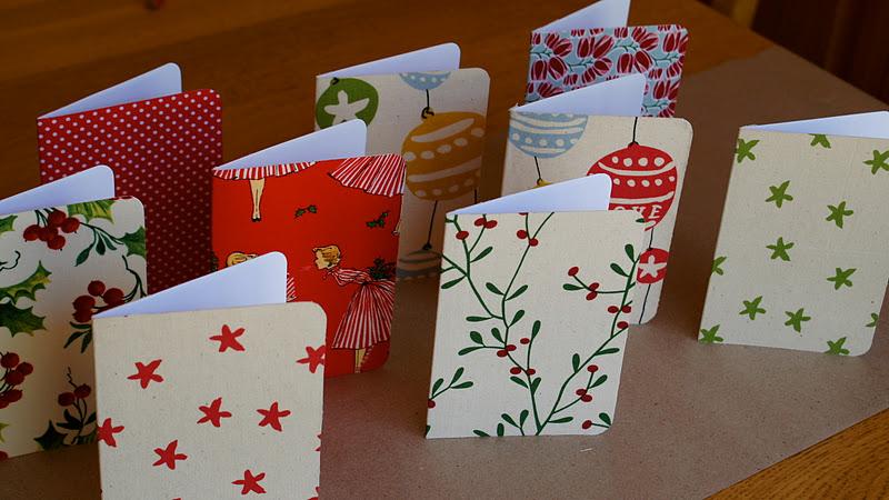 Diy Fabric Christmas Cards