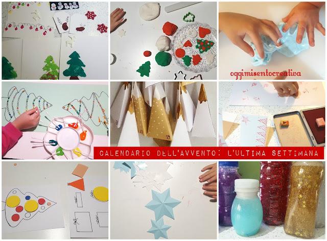 le ultime otto attività fatte coi bambini per il nostro calendario dell'avvvento