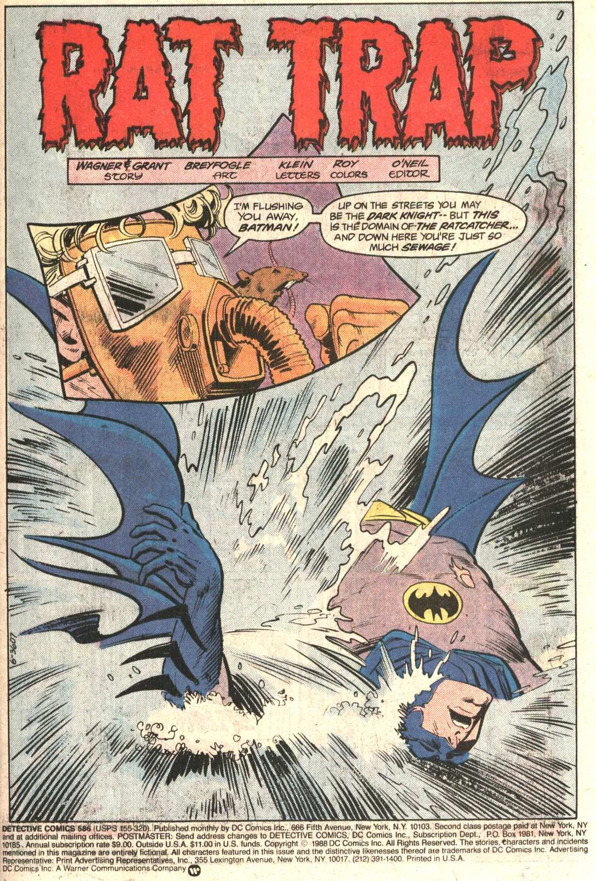 Detective Comics (1937) 586 Page 1