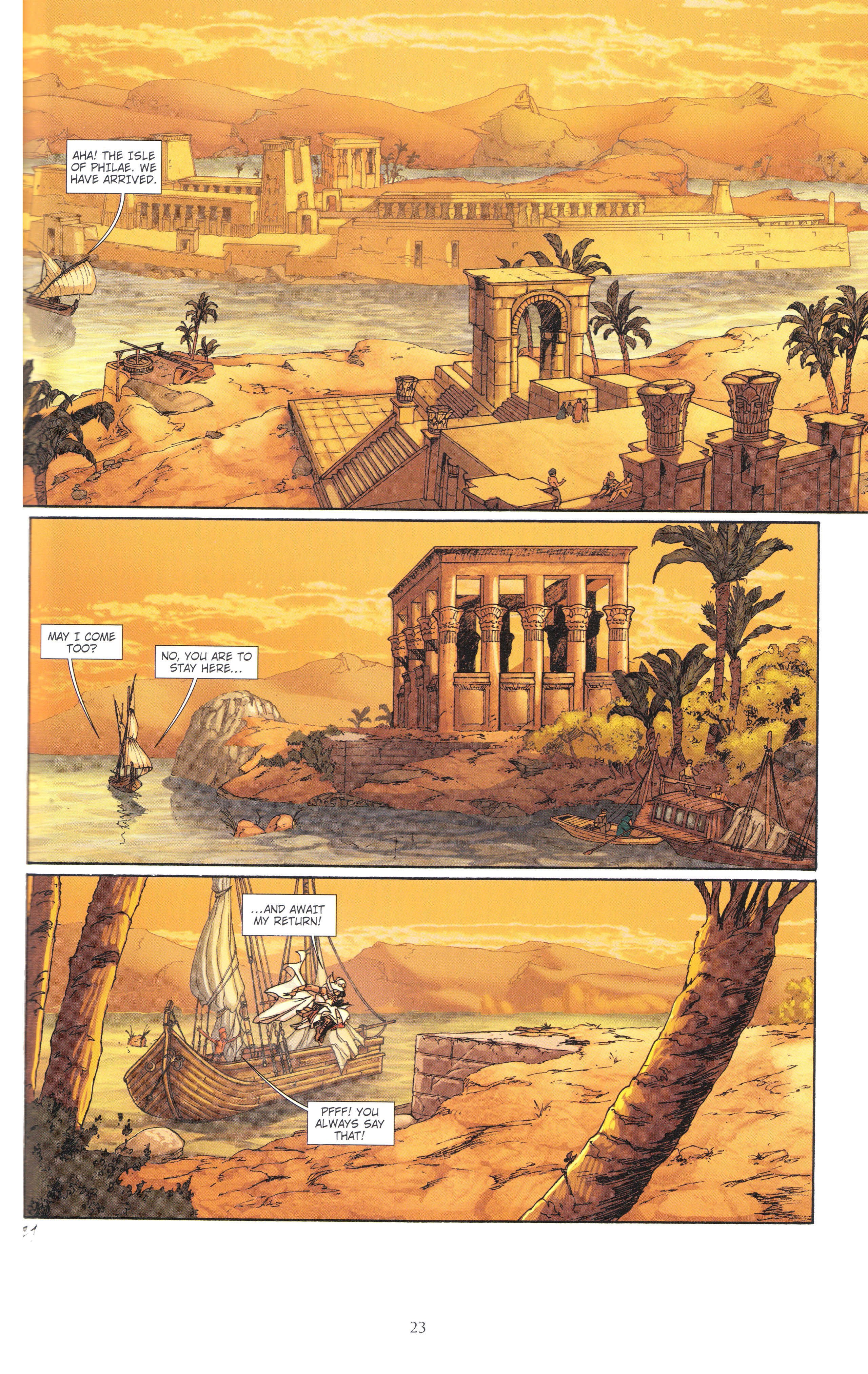 Read online Assassin's Creed (2012) comic -  Issue #4 - 23