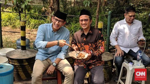 Sandi Bertemu Yusuf Mansur, Doa Netizen Luar Biasa