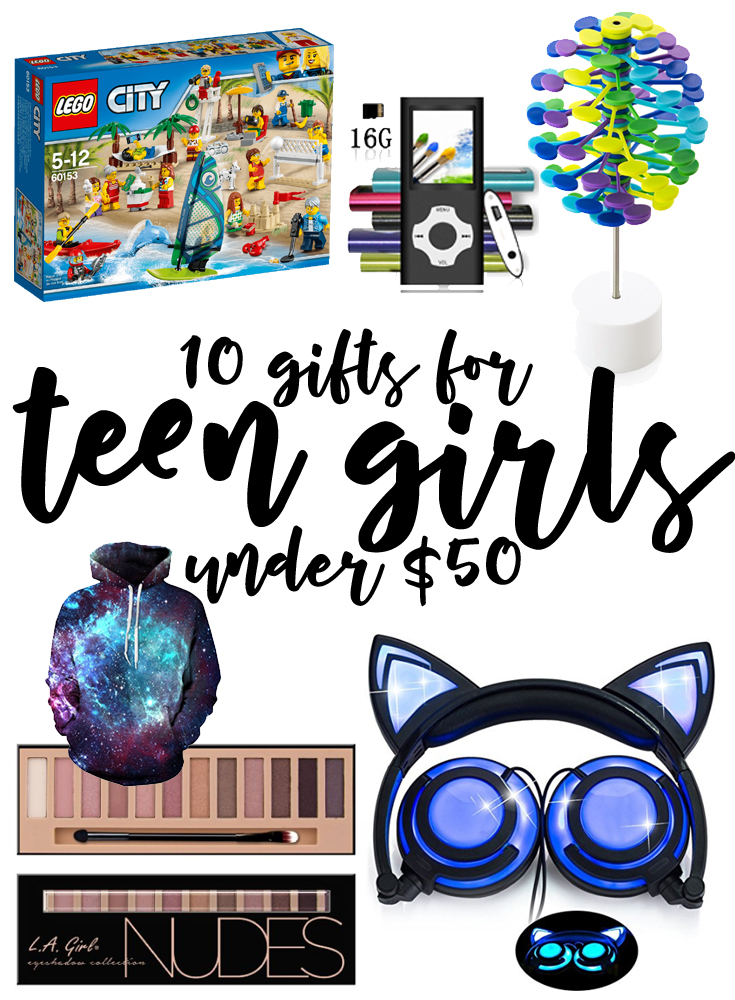 10 great gifts for teenage girls under 50