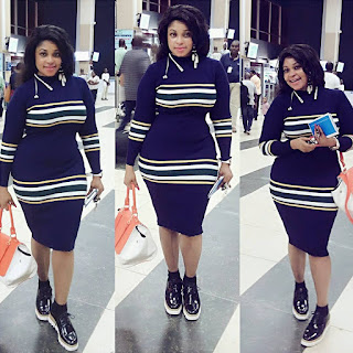 Biodun Okeowo(Omobutty): 10 Photos Of The Actress That Shows That Her Curves Are Real