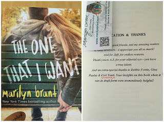 Book Cover: The One That I Want by Marilyn Brant