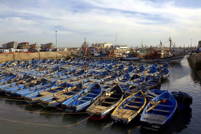 Puerto Essaouira Marruecos