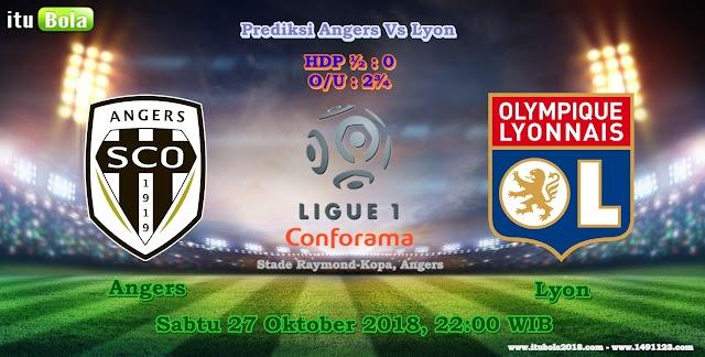 Prediksi Angers Vs Lyon - ituBola