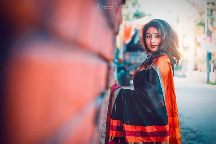 Priyanka Sarmacharjee classy looks in sharee from karimganj assam girls