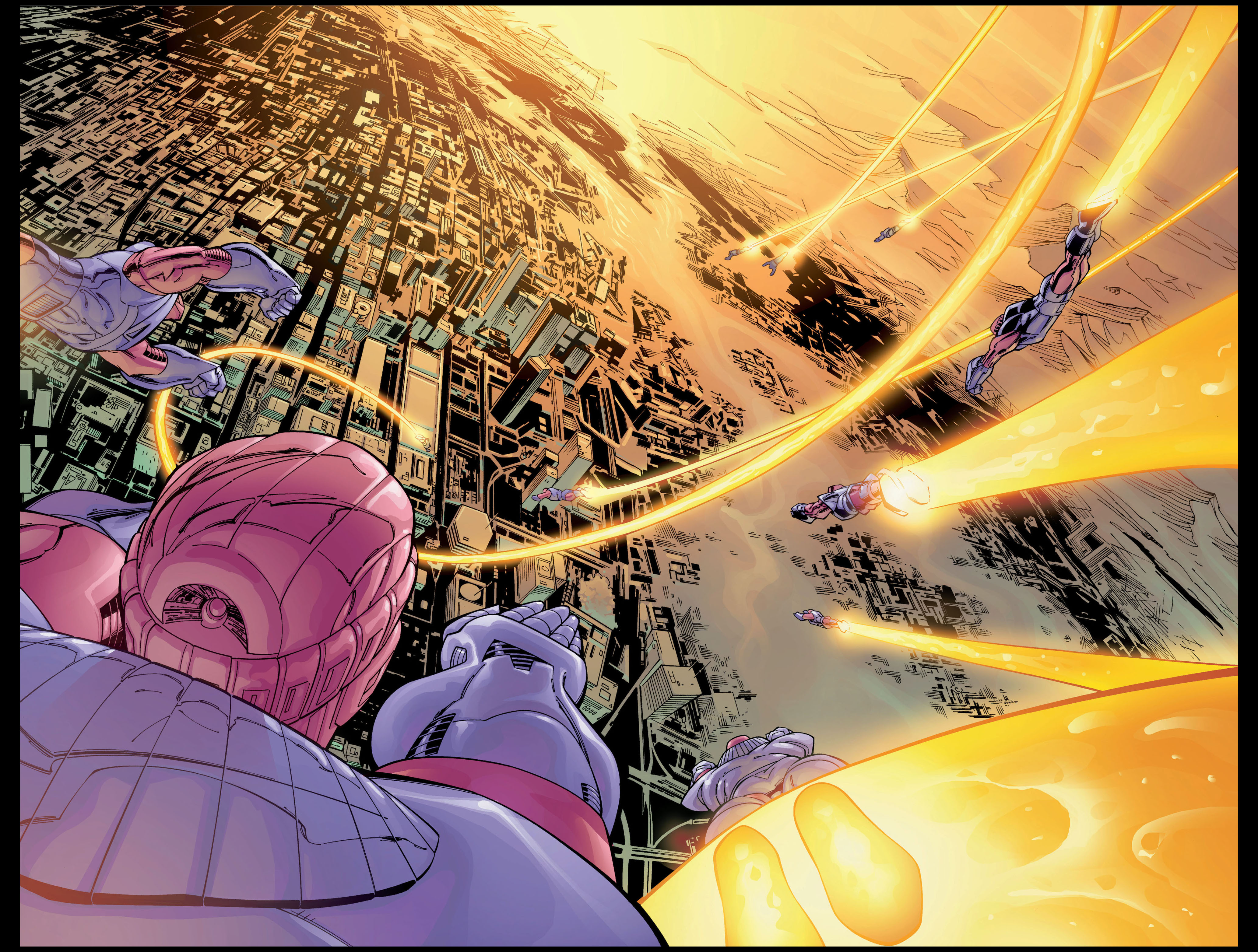 Read online Ultimate X-Men comic -  Issue #1 - 3