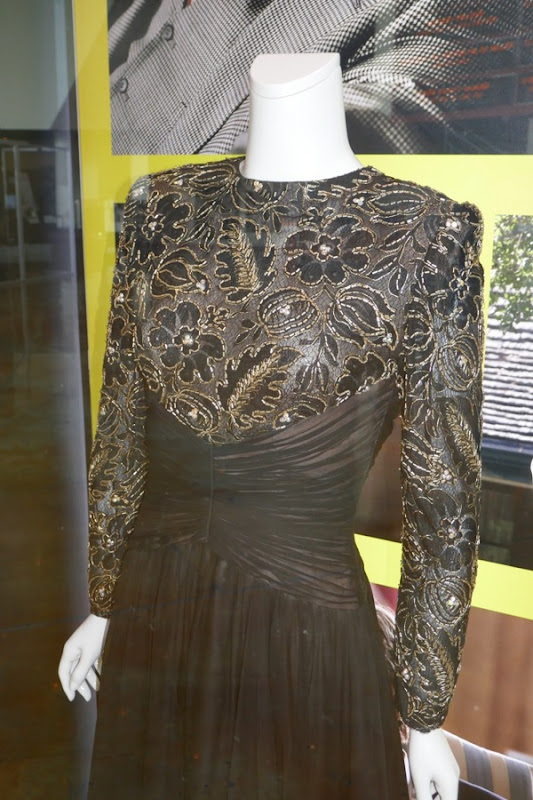 Lynne Cheney Vice gown detail