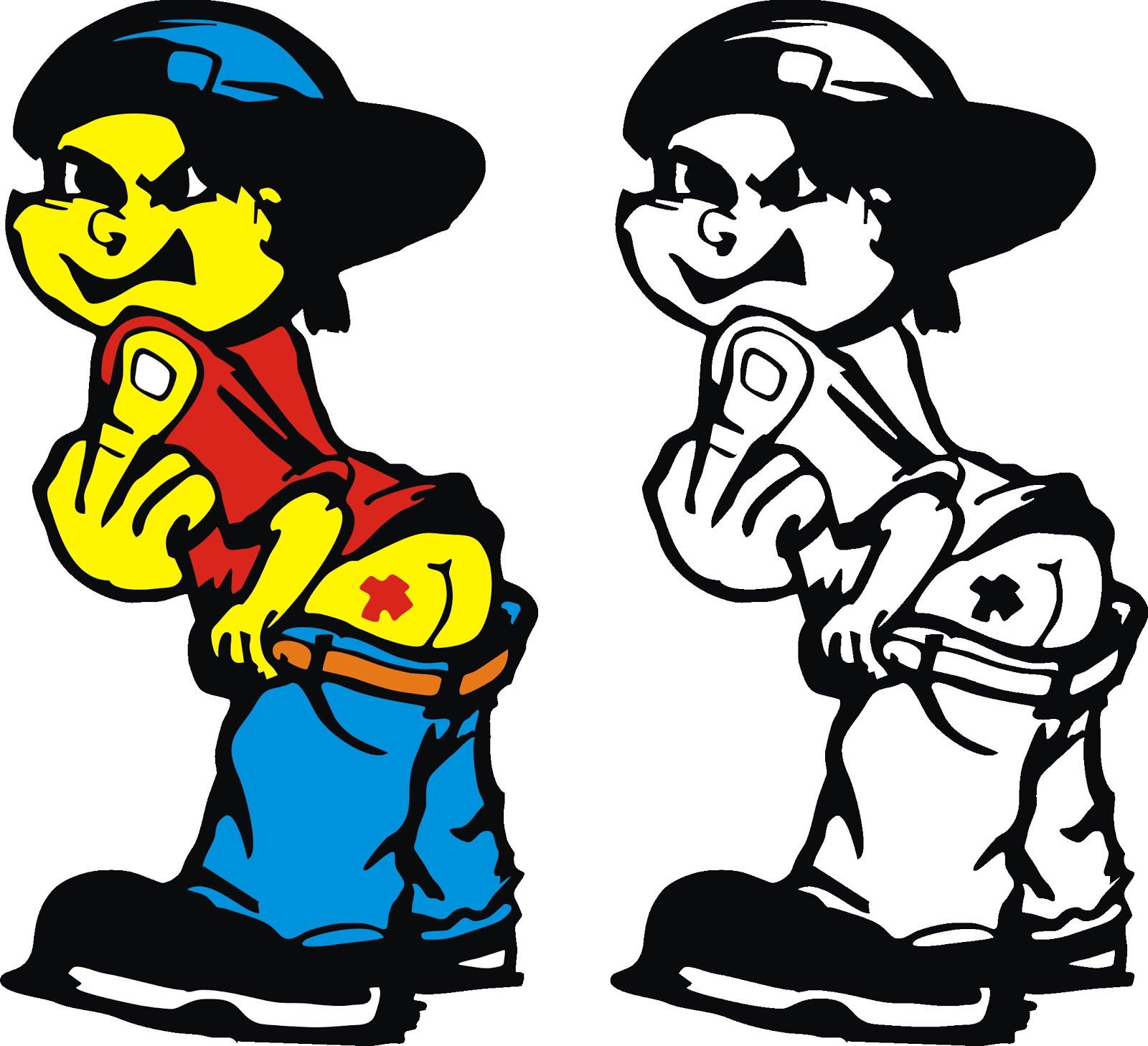 Gambar Kartun Anak Rap Seribu Animasi