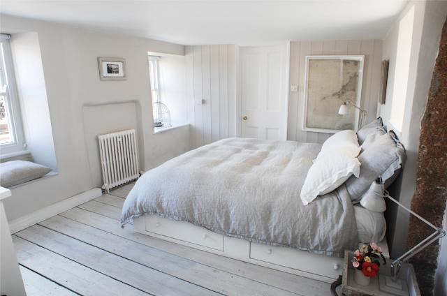 dormitorio decoración tonos neutros