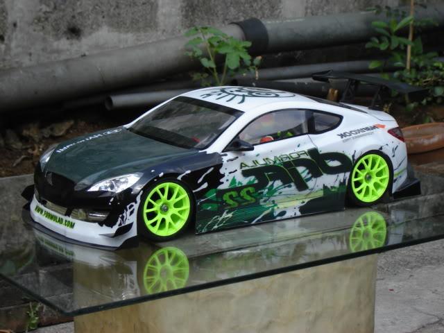 Hyundai Genesis Coupe Rc Body 1 10 Scale