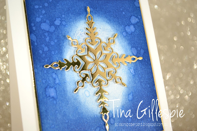 scissorspapercard, Stampin' Up!, Art With Heart, Heart Of Christmas, Star Of Light, Starlight Thinlits