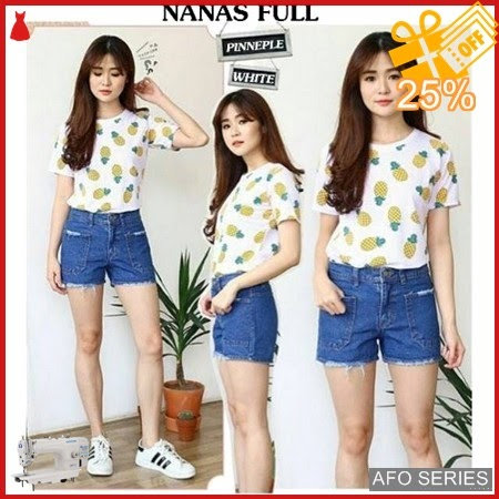 AFO659 Model Fashion Nanas Full Modis Murah BMGShop