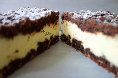 """Sernik w cieście czekoladowym """"Kapłański"""""""