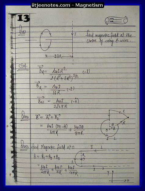 Magnetism Notes 3
