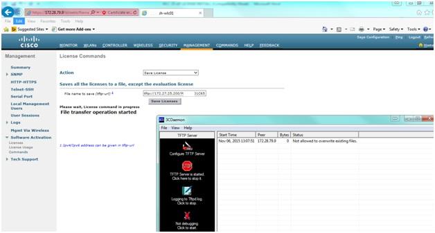 My Network Lab: Cisco WLC AP license