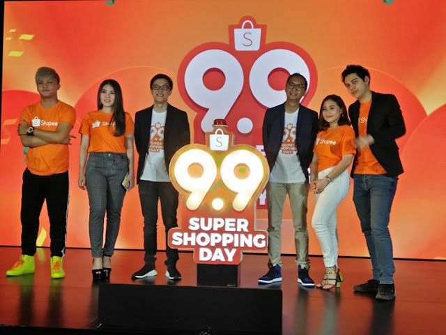 Pembukaan dan brand ambasador 9.9 Super Shopping Day