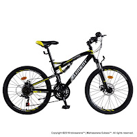 Sepeda Gunung Element Montreal Full Suspension 21 Speed 26 Inci