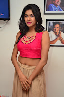 Akshita super cute Pink Choli at south indian thalis and filmy breakfast in Filmy Junction inaguration by Gopichand ~  Exclusive 023.JPG