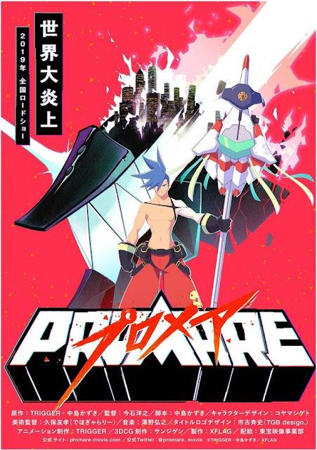Promare, la película colaboración entre Trigger y XFlag's!!