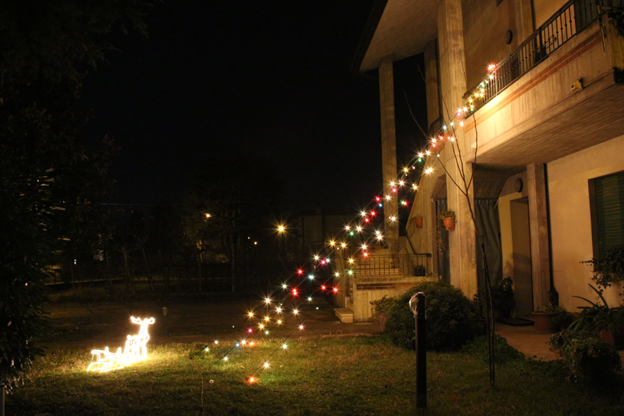 Luci esterne e presepe in legno fai da te u cbru egarden lights and