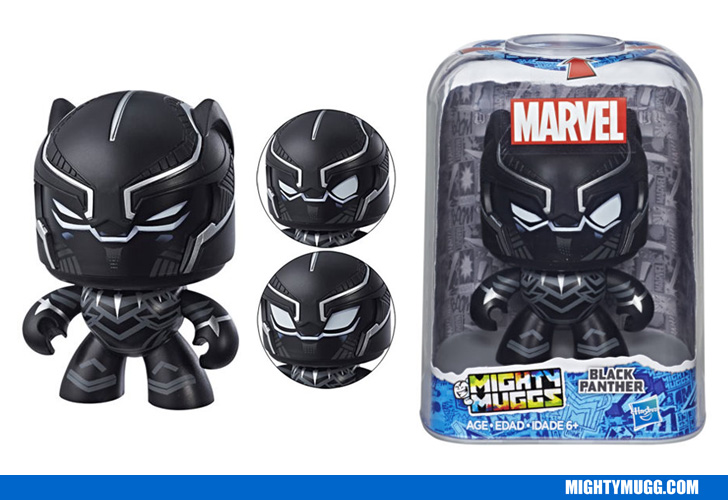 Black Panther Marvel Mighty Muggs Wave 2 2018