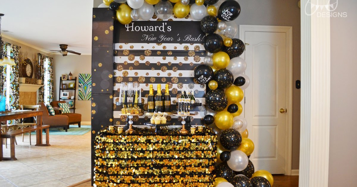 GreyGrey Designs: At Home New Year's Eve Party Ideas