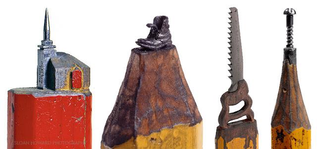Миниатюрные скульптуры на кончике карандаша Далтона Гетти (Dalton M. Ghetti) - DayDreamer Blog