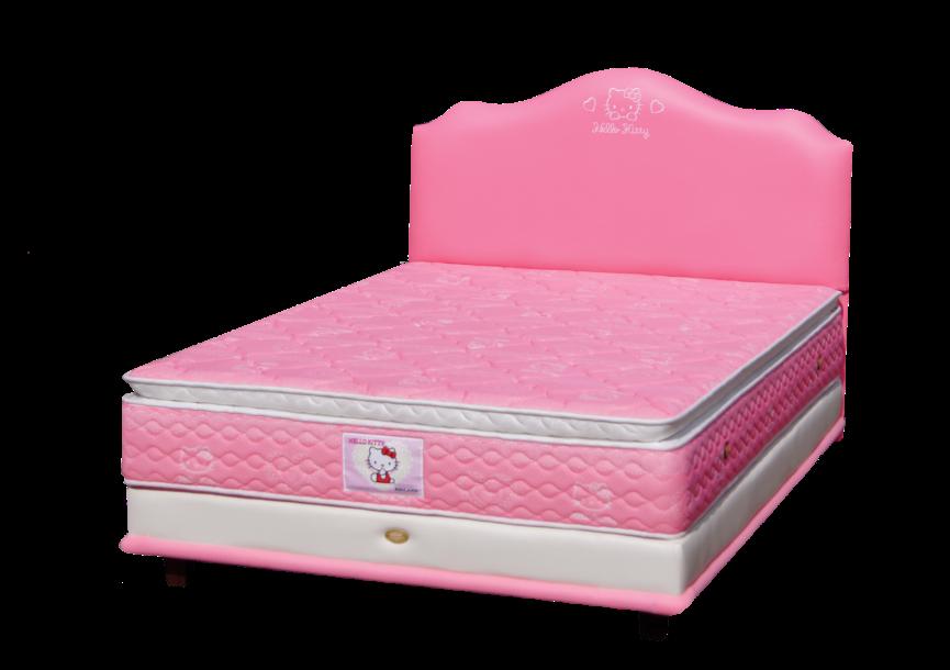 Harga Spring Bed Bigland Hello Kitty Pillow Top di Purwokerto