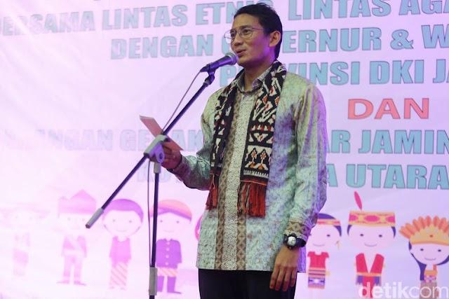 Soal PKL Tanah Abang, Sandi: kasi saya waktu ya..saya masi pusing