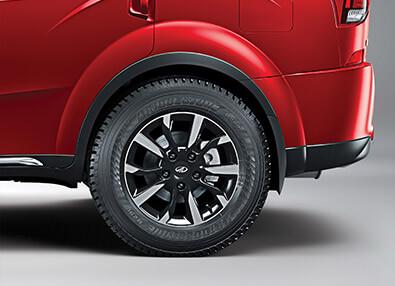 2018 New XUV 500 rear wheel image