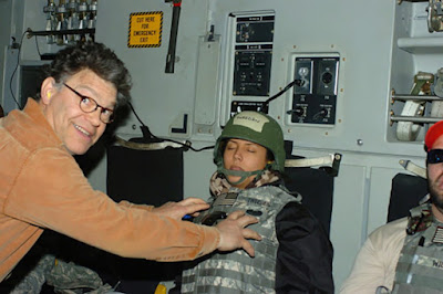 Franken groping woman