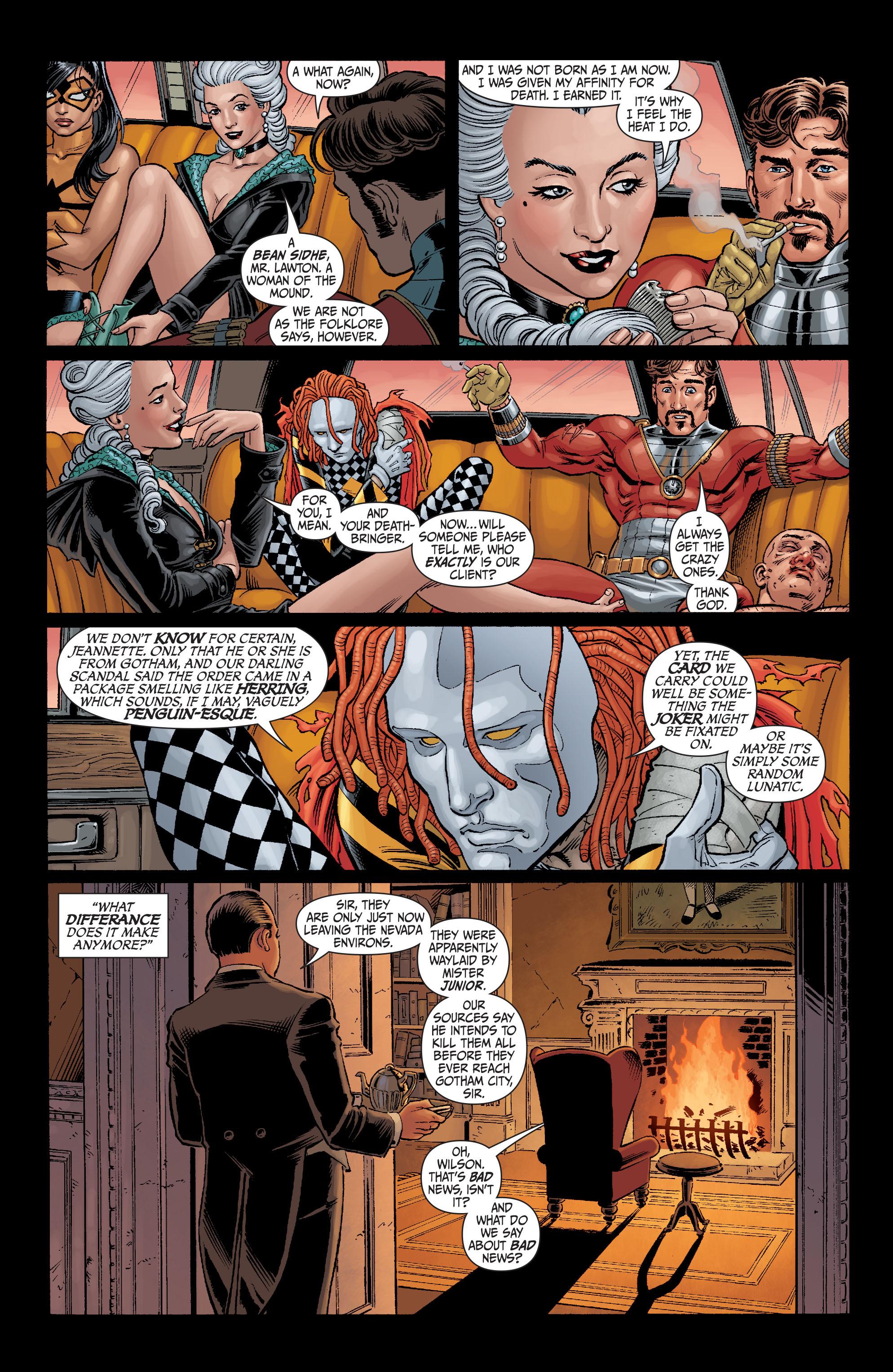 Read online Secret Six (2008) comic -  Issue #6 - 11
