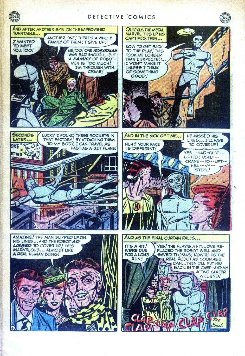 Read online Detective Comics (1937) comic -  Issue #169 - 36