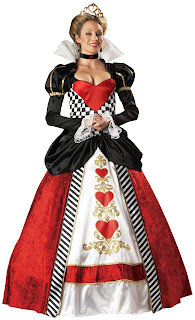 Queen Of Hearts Costume At Spicylegs.com