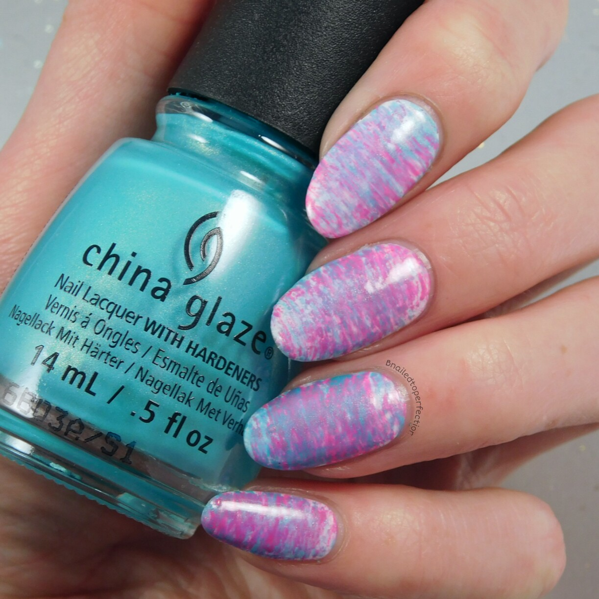 B Nailed To Perfection 40 Great Nail Art Ideas Pink And Aqua