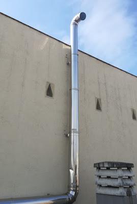 foto aumento diametro tubos salida humos