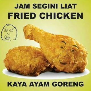 Foto lucu dan Gambar lucu DP BBM dan Meme Terbaru Jomblo Buka puasa makanan ramadhan
