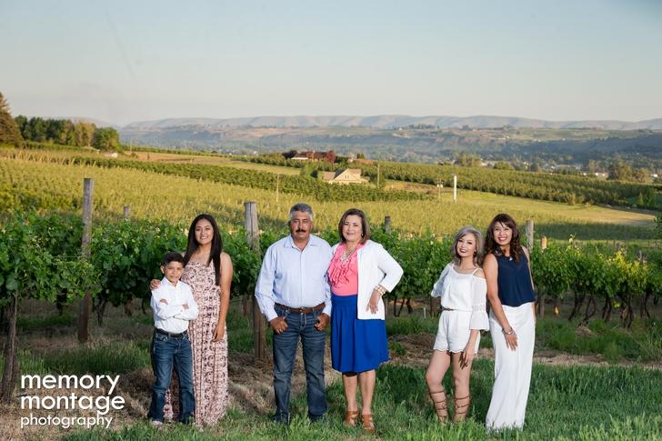 Yakima Wine Country Photography - Rodriquez Family