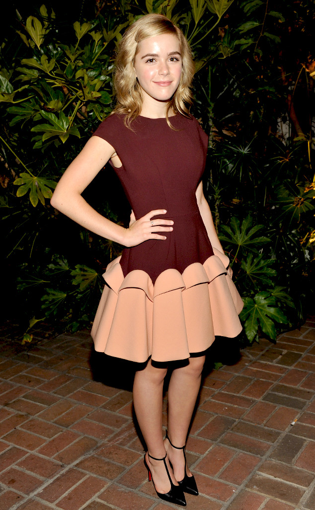 Kiernan Shipka Visit Pre-Emmy Reception Party