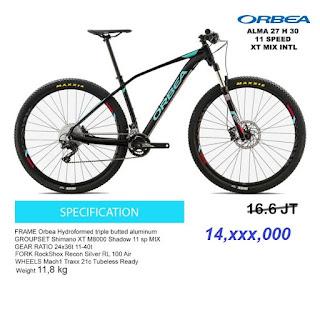 Orbea Alma 27 H30 2017 Black