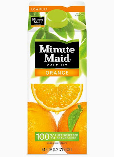 Rare New Coupon: $0.75/1 Minute Maid Orange Juice