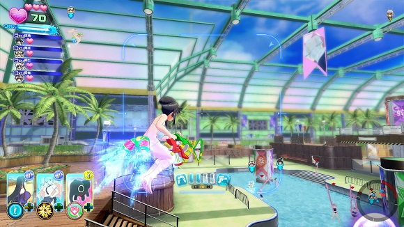Senran Kagura Peach Beach Splash PC Free Download Screenshot 1