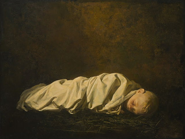 "arte contemporáneo, pinturas, ""Boy Dreaming"" by Igor Melnikov, 2017."