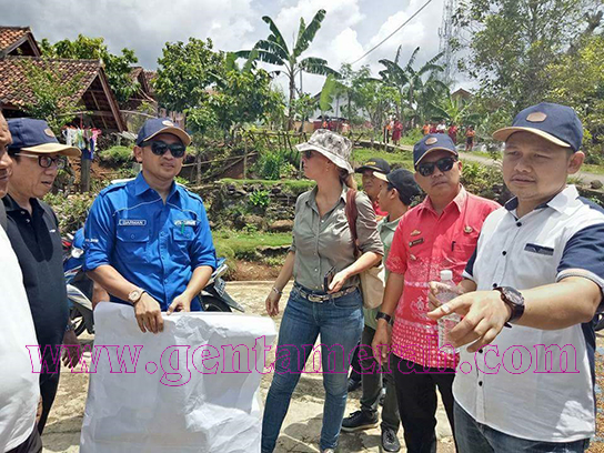 Tim Perisapan PTSL Kunjungi Pekon Kuripan