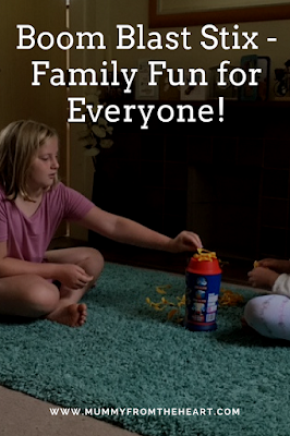 family fun, family game, boom blast stix, review, suspense game,