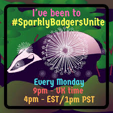 #sparklybadgersunite